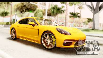 Porsche Panamera 4S 2017 v3 para GTA San Andreas
