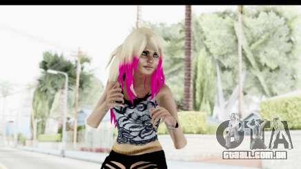 Summer Ombre Hair para GTA San Andreas