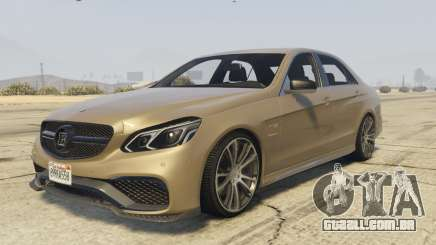 Mercedes-Benz E63 Brabus 850HP para GTA 5