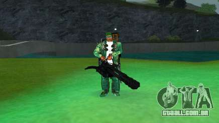 M134 MINIGUN BLACK para GTA San Andreas