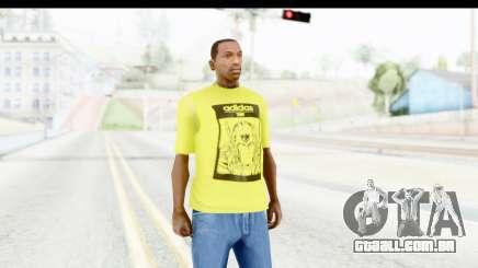 Adidas Thor T-Shirt para GTA San Andreas