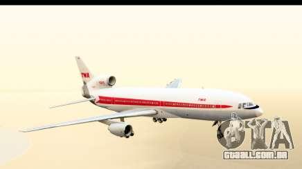 Lockheed L-1011-100 TriStar Trans World Airlines para GTA San Andreas