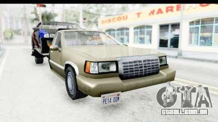 Limousine Auto Transporter para GTA San Andreas