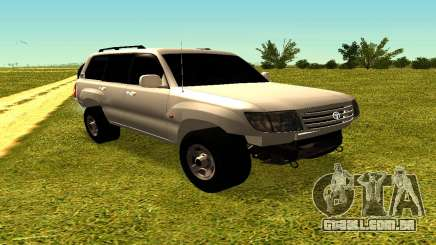 Toyota Land Cruiser 105V para GTA San Andreas