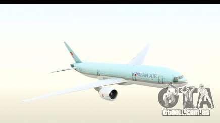 Boeing 777-200ER Korean Air para GTA San Andreas