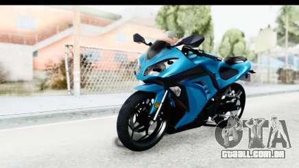 Kawasaki Ninja 300R para GTA San Andreas
