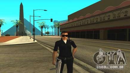 A pele de uma funcionária da polícia para GTA San Andreas