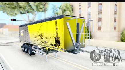 Trailer Caterpillar para GTA San Andreas