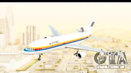 Lockheed L-1011-100 TriStar United Airlines para GTA San Andreas