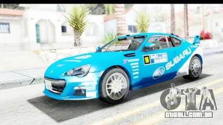 Subaru BRZ Rally para GTA San Andreas