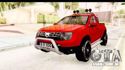 Dacia Duster Pickup para GTA San Andreas