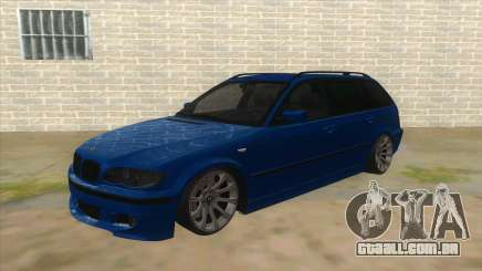 BMW E46 Touring Facelift para GTA San Andreas