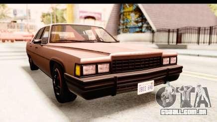 GTA 5 Albany Emperor SA Style para GTA San Andreas