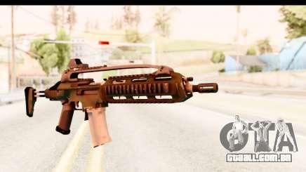 SCAR-LK Green para GTA San Andreas