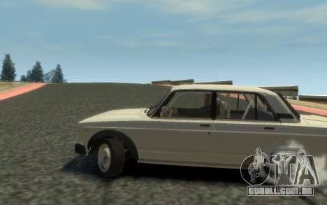 VAZ 2105 Drift (Paul Black prod.) para GTA 4 traseira esquerda vista