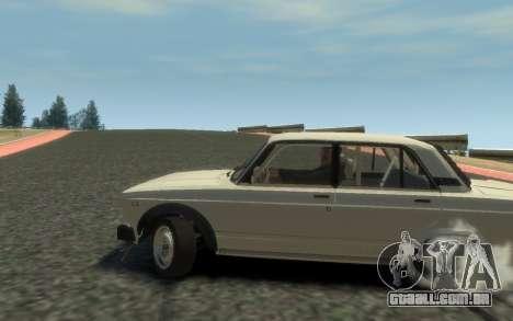 VAZ 2105 Drift (Paul Black prod.) para GTA 4 traseira esquerda vista
