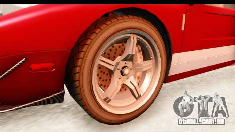 GTA 4 TboGT Bullet para GTA San Andreas vista traseira