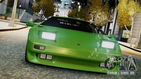 Lamborghini Diablo VT 1990 para GTA 4 traseira esquerda vista