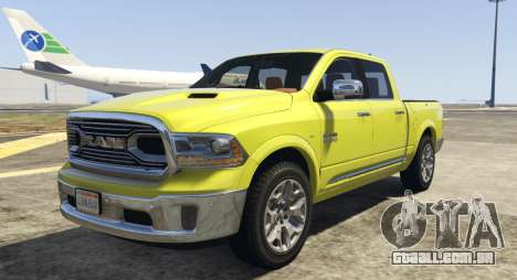 Dodge Ram Limited 2016 para GTA 5