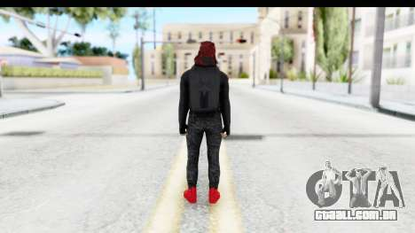 Skin Random 4 from GTA 5 Online para GTA San Andreas terceira tela