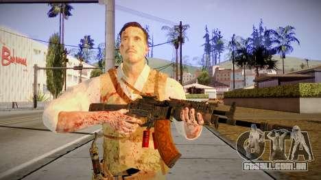 Black Ops 3 - Edward Richtofen para GTA San Andreas terceira tela