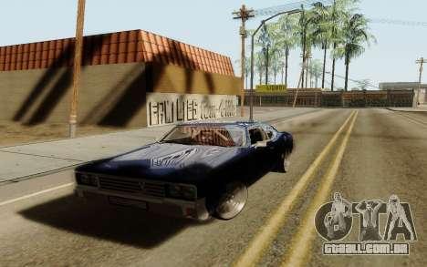 HD Sabre Greedy para GTA San Andreas