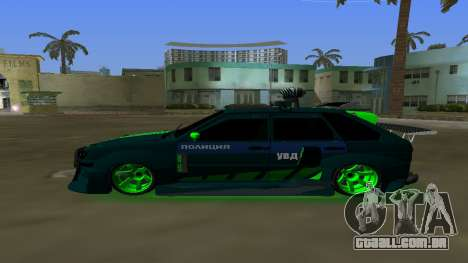 VAZ 2114 DPS Tuning para GTA Vice City deixou vista