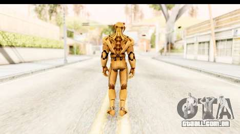 Marvel Heroes - Ultron Gold AoU para GTA San Andreas terceira tela