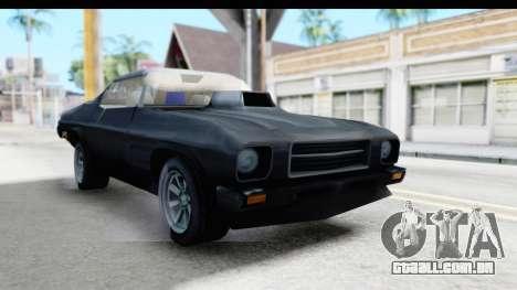 Holden Monaro 1972 Nightrider para GTA San Andreas vista direita