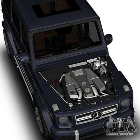 Mercedes-Benz G63 para GTA San Andreas vista direita