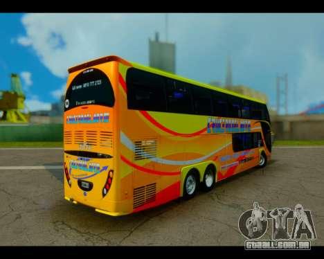 Metalsur Starbus II CRUCERO DEL NORTE para GTA San Andreas esquerda vista