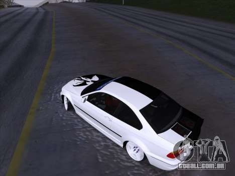 BMW E46 Good and Evil para vista lateral GTA San Andreas