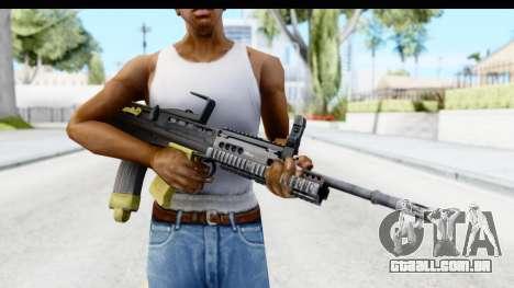 L85 para GTA San Andreas terceira tela