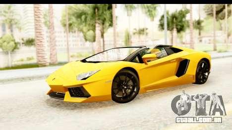 Lamborghini Aventador LP700-4 Roadster v2 para GTA San Andreas