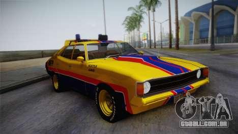 Main Force Patrol Vehicle Mad Max para GTA San Andreas