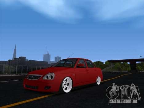 VAZ 2170 STANCE para GTA San Andreas