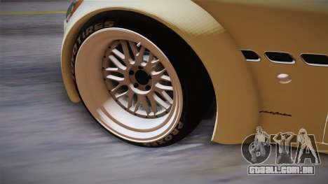 Maserati Gran Turismo Rocket Bunny para GTA San Andreas vista interior
