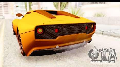 Lucra L148 2016 para GTA San Andreas vista interior