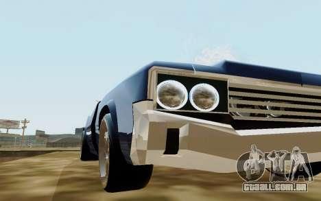 HD Sabre Greedy para GTA San Andreas vista direita