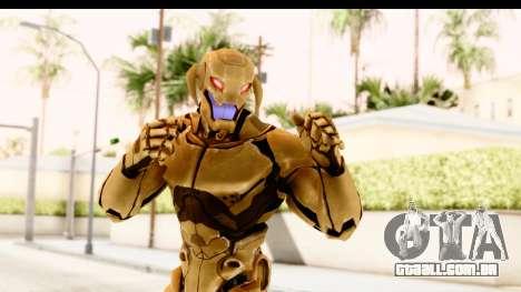Marvel Heroes - Ultron Gold AoU para GTA San Andreas
