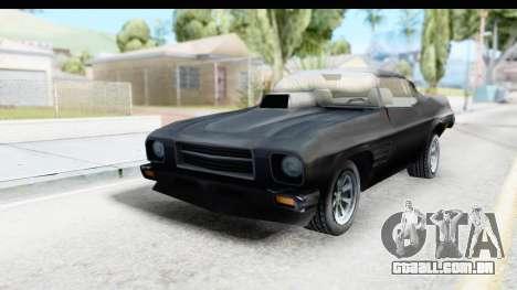 Holden Monaro 1972 Nightrider para GTA San Andreas