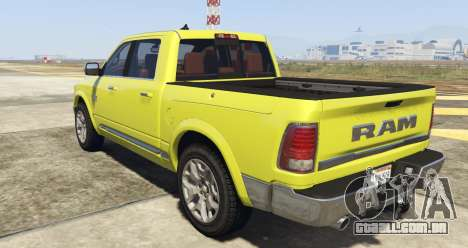 GTA 5 Dodge Ram Limited 2016 vista lateral esquerda