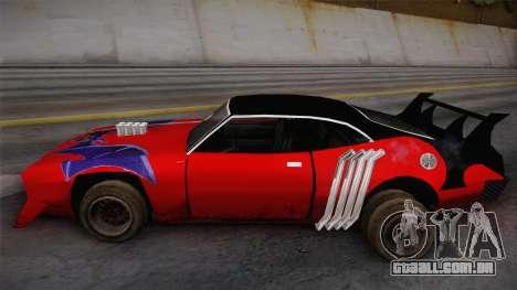 Ford Falcon 1972 Red Bat para GTA San Andreas traseira esquerda vista