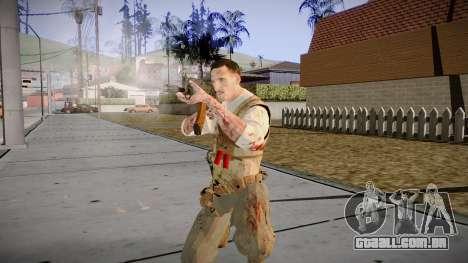 Black Ops 3 - Edward Richtofen para GTA San Andreas por diante tela