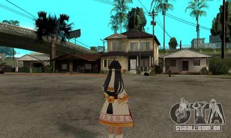 Ara Sakra Devanam (Elsword) para GTA San Andreas segunda tela
