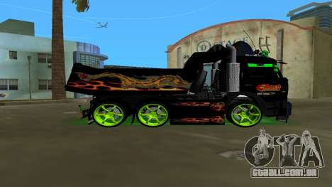 KAMAZ 65115 TUNING para GTA Vice City deixou vista