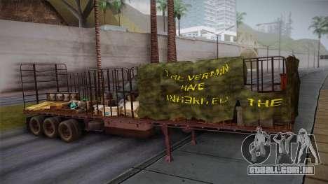 Mack R600 v1 Trailer para GTA San Andreas