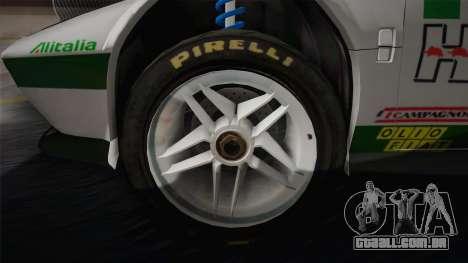 Lancia Stratos para GTA San Andreas vista interior