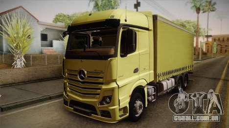 Mercedes-Benz Actros Mp4 v2.0 Tandem Big para GTA San Andreas