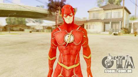 Injustice God Among Us Flash New 52 Edited Model para GTA San Andreas terceira tela